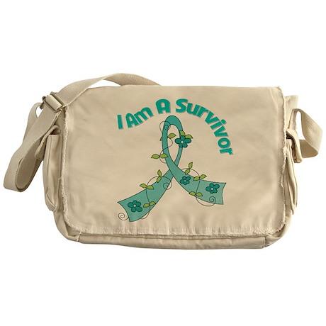 Ovarian Cancer SURVIVOR Messenger Bag