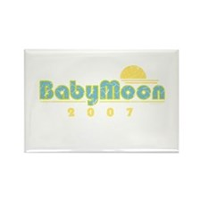 BabyMoon Sunset 2007 Rectangle Magnet