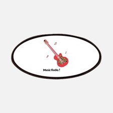 Personalized Red Leopard Guitar Patches