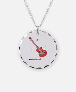 Personalized Red Leopard Gui Necklace