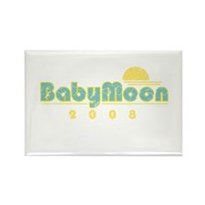 BabyMoon Sunset 2008 Rectangle Magnet