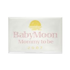BabyMoon Mommy To Be 2007 Rectangle Magnet
