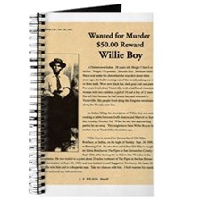 Wanted Willie Boy Journal