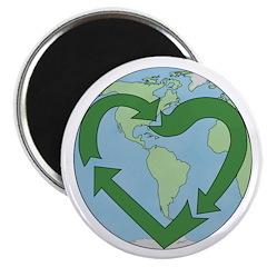 Recycle Earth (Heart) 2.25
