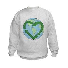 Recycle Earth (Heart) Sweatshirt