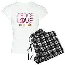 Peace Love Latte Pajamas