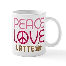 Peace Love Latte Mug