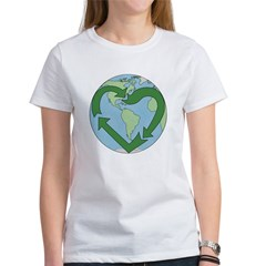 Recycle Earth (Heart) Tee