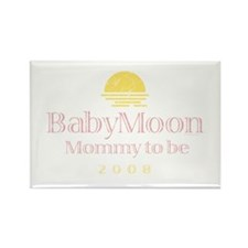 BabyMoon Mommy To Be 2008 Rectangle Magnet