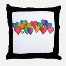 Heres My Heart Throw Pillow