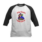 What Would Capt. JAck Do? Kids Baseball Jersey