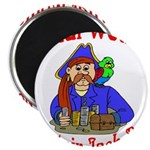 What Would Capt. JAck Do? Magnet