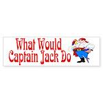 What Would Capt. JAck Do? Bumper Sticker