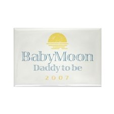 BabyMoon Daddy To Be 2007 Rectangle Magnet