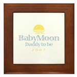 BabyMoon Daddy To Be 2007 Framed Tile