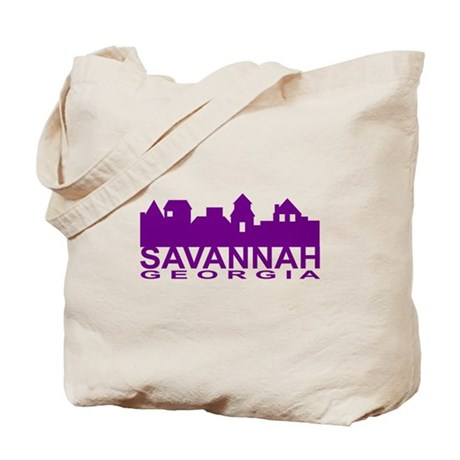 Savannah Skyline Tote Bag