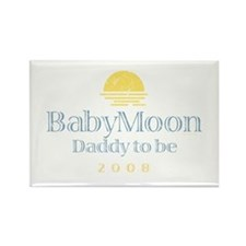 BabyMoon Daddy To Be 2008 Rectangle Magnet