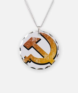 Sickle and Hammer Necklace