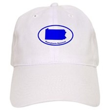 Pennsylvania BLUE STATE Baseball Cap