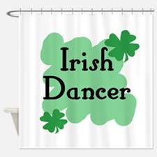 Irish Dancer Shower Curtain
