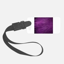 Purple wrinkle paper texture Luggage Tag