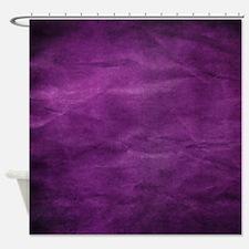 Purple wrinkle paper texture Shower Curtain