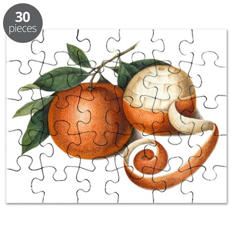 Chinese Oranges Antique Painting Puzzle