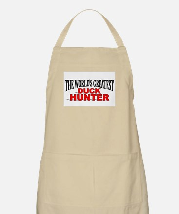 """The World's Greatest Duck Hunter"" BBQ Apron"
