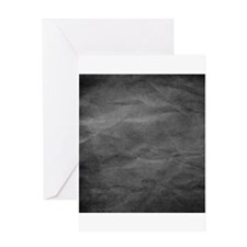 Slate wrinkle paper texture Greeting Cards
