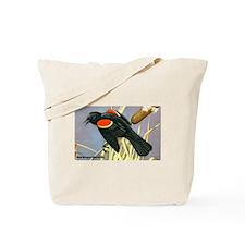 Red-Winged Blackbird Bird Tote Bag
