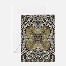 Porifera Pattern Greeting Card