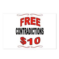 CONTRADICTIONS Postcards (Package of 8)