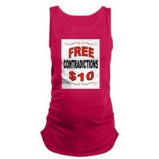 CONTRADICTIONS Maternity Tank Top