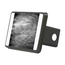 Grey wrinkle paper texture Hitch Cover