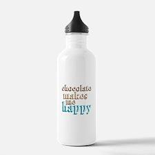 Happy Chocolate Water Bottle