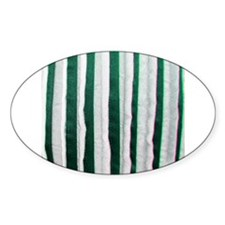 Green distressed stripes Decal