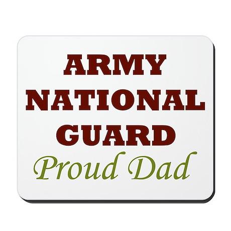 National Guard Proud Dad Mousepad