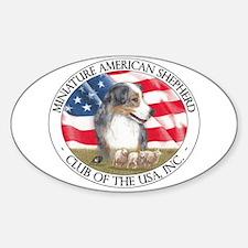 MASCUSA Logo Sticker (Oval)