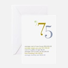 1975 Fun Facts Birthday Greeting Card