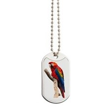Red Ara Bird Dog Tags