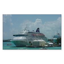 Bermuda Cruise Ship Decal