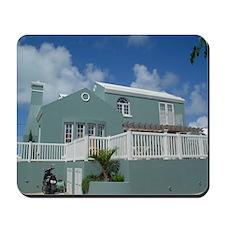 Old Bermuda House Mousepad