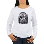 Alice & the Kitty Women's Long Sleeve T-Shirt