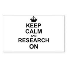 Keep Calm and Research on Decal