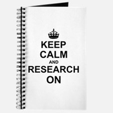 Keep Calm and Research on Journal