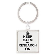 Keep Calm and Research on Keychains