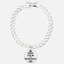 Keep Calm and Research on Bracelet