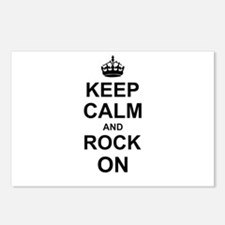 Keep Calm and Rock on Postcards (Package of 8)