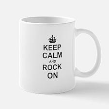Keep Calm and Rock on Mugs