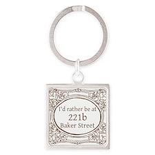 221b Baker Street Keychains